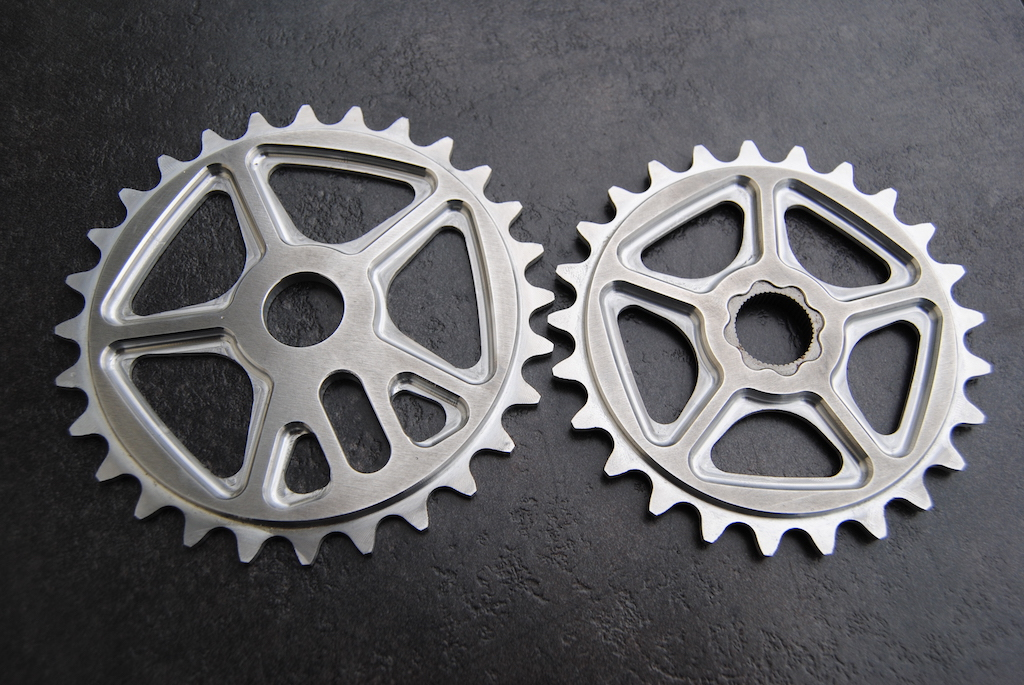 New Shape bicycles sprocket - Both version