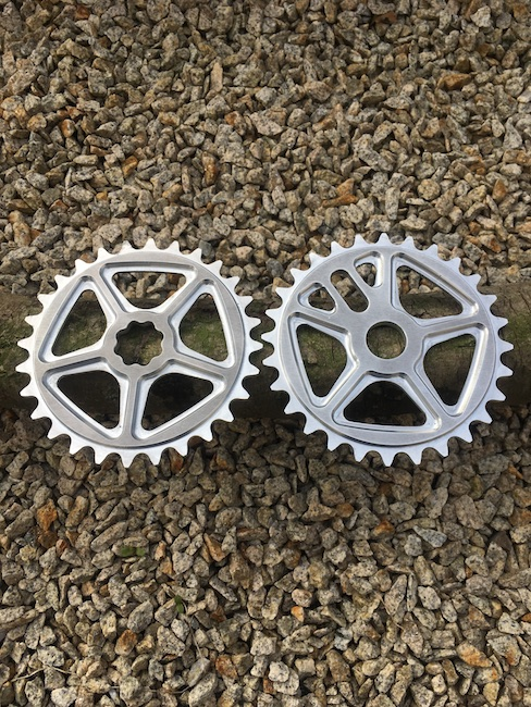 Sale of Shape bicycles sprockets - CURRENT design