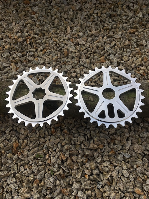 Sale of Shape bicycles sprockets - OLD design