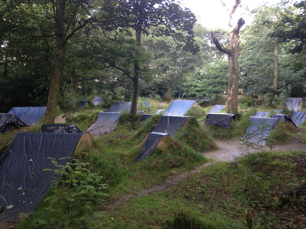 Brighouse trail - Shape bicycles UK trail trip 2016
