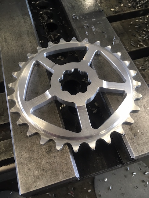 The first Shape bicycles DIY sprocket