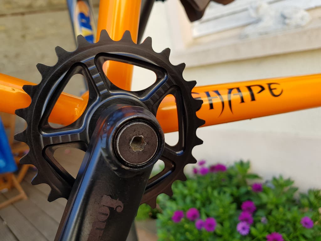 Shape bicycles prototype sprocket 26T