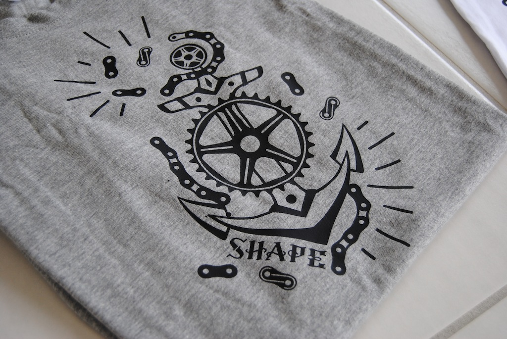 New Shape bicycles  tee shirt