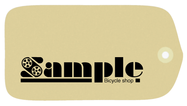 Sample bicycle shop